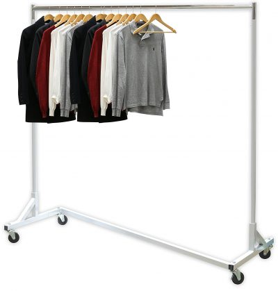 3. Simple Houseware Industrial Grade Garment Rack