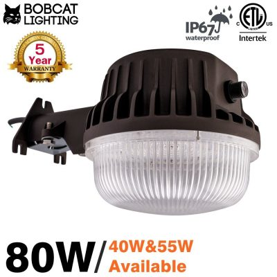 4. Bobcat 80W LED Area Light