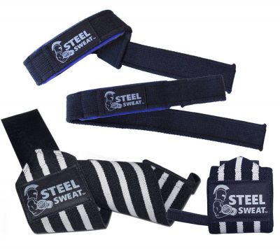 4. Steel Sweat Wrist Wraps
