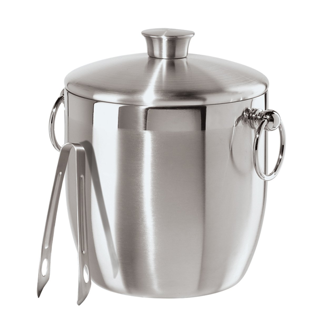 5. Oggi Stainless Steel Ice Bucket with Tongs - 10 Best Ice Buckets