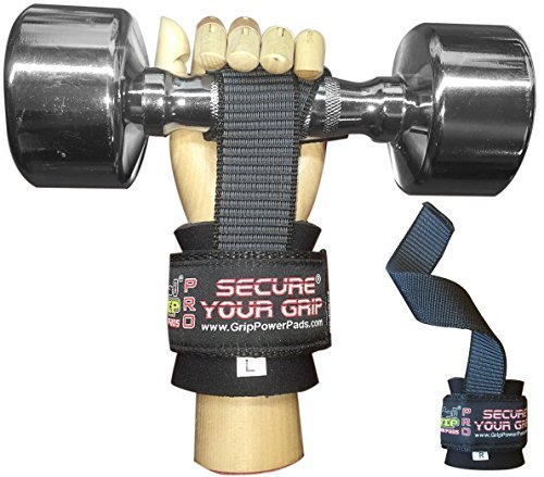 5. Grip Power Pads Lifting Straps