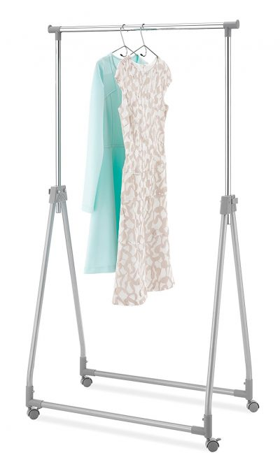 7. Whitmor Foldable Garment Rack