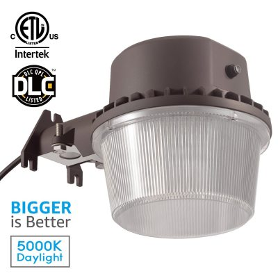 8. TORCHSTAR Dusk-to-dawn LED Outdoor Barn Light
