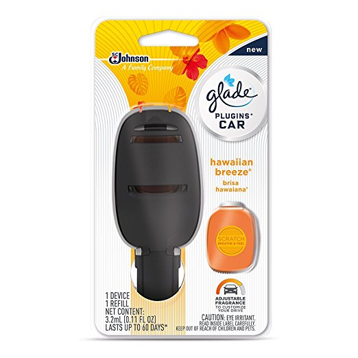 8. Glade PlugIns Car Air-Freshener Starter Kit