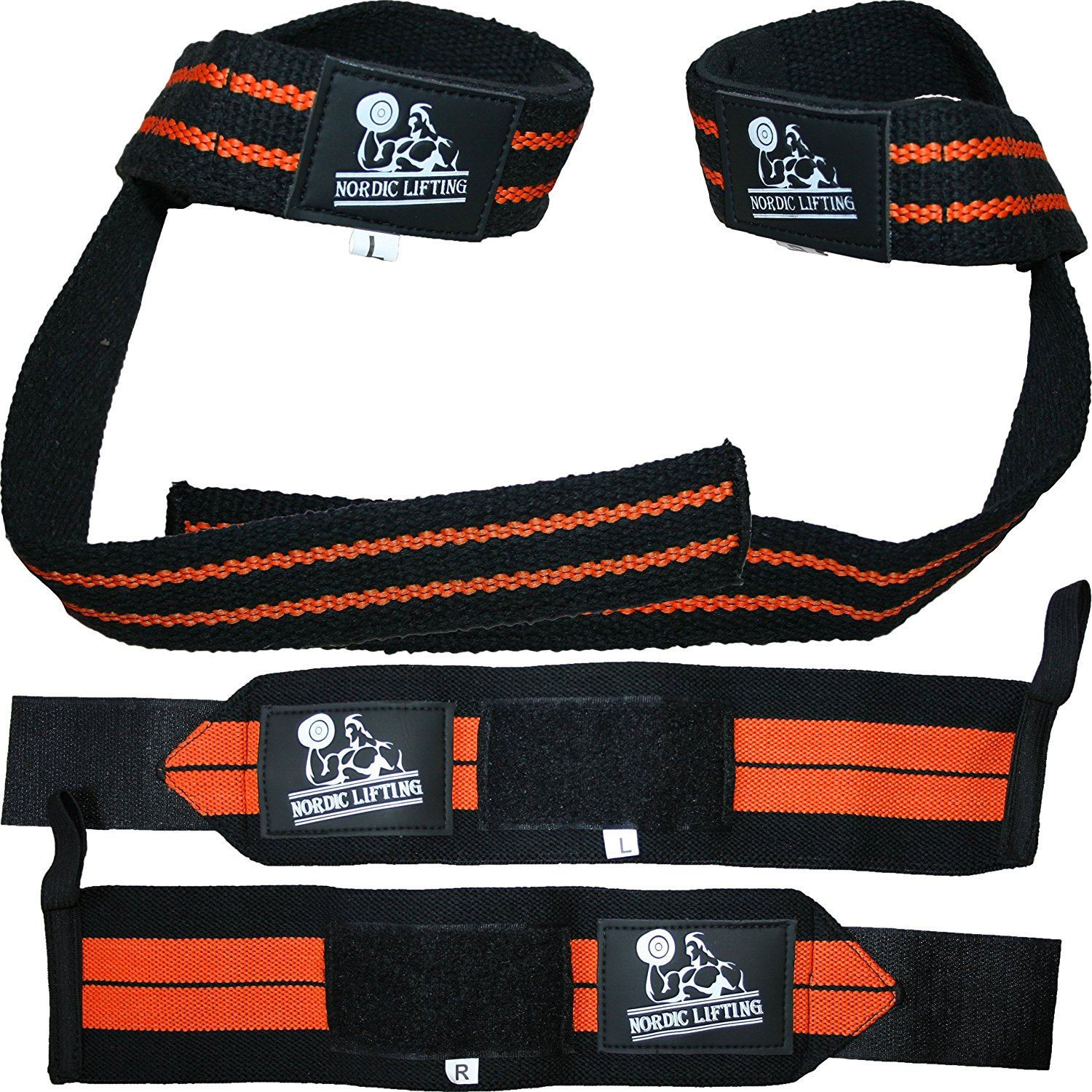 9. Nordic Lifting Straps Bundle
