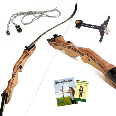 "1. KESHES 62"" Takedown Recurve Bow and Arrow"