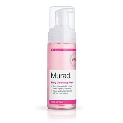 1. Murad Daily Cleansing Foam