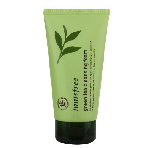 6. Innisfree Green Tea, Pure Cleansing Foam
