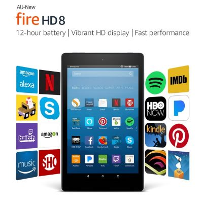 7. Certified Refurbished Fire HD 8 Tablet