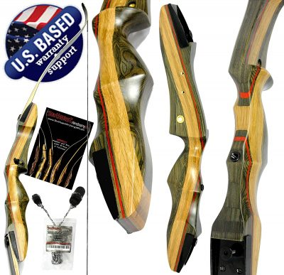 "8. Southwest Archery 62"" Takedown Recurve Bow and Arrow Set"
