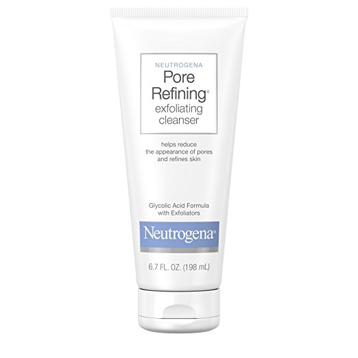 9. Neutrogena Pore Refining Exfoliating Cleanser