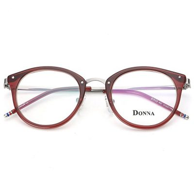 9. DONNA Stylish Clear Lens Glasses