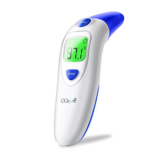 5. QQCute Digital Infrared Baby Forehead Thermometer