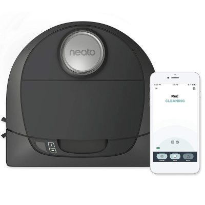 1. Neato Botvac D5 Connected Navigating Robot Vacuum