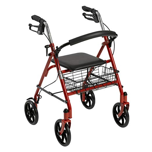 3. Drive Medical Four Wheel Rollator