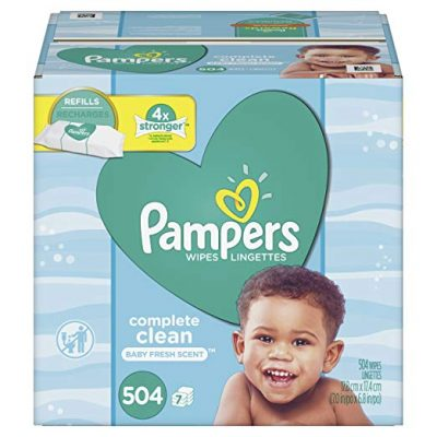 5. Pamper Complete Clean Scent Baby Wipes