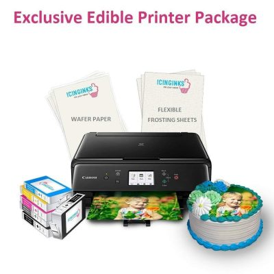 5. Icinginks Edible Printer Exclusive Package