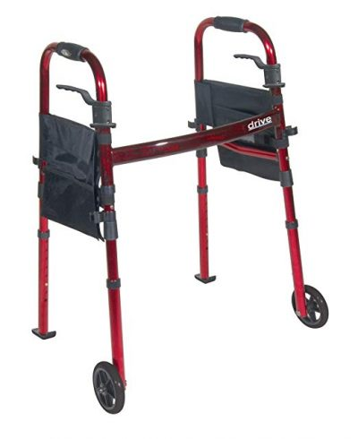 6. Drive Medical Portable Folding- Best Adult Travel Walkers