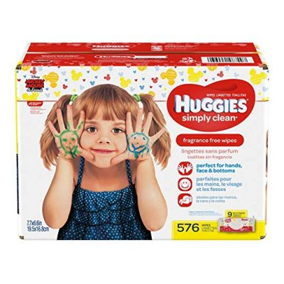 6. HUGGIES Simply Clean Baby Wipes