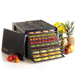 6. Excalibur 3926TB 9-Tray Electric Food Dehydrator