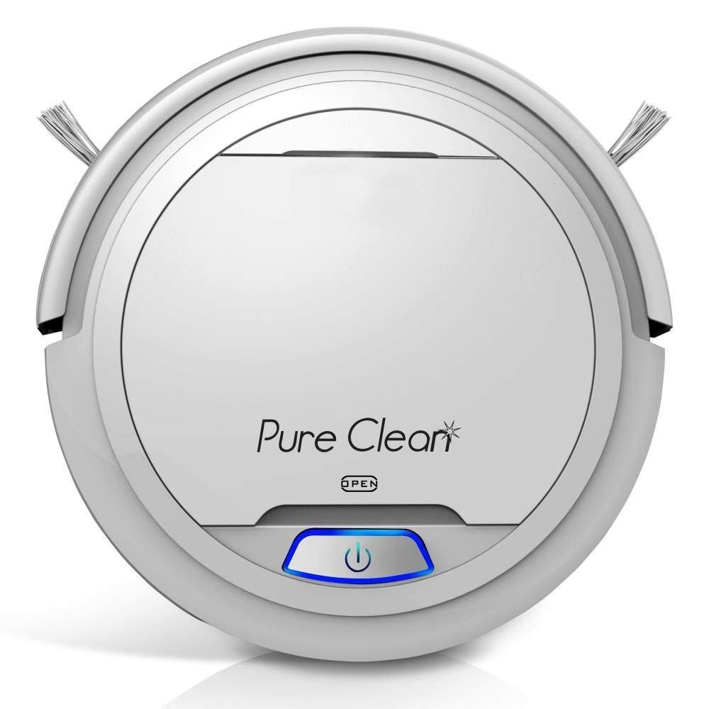 7. PureClean Automatic Robot Vacuum Cleaner