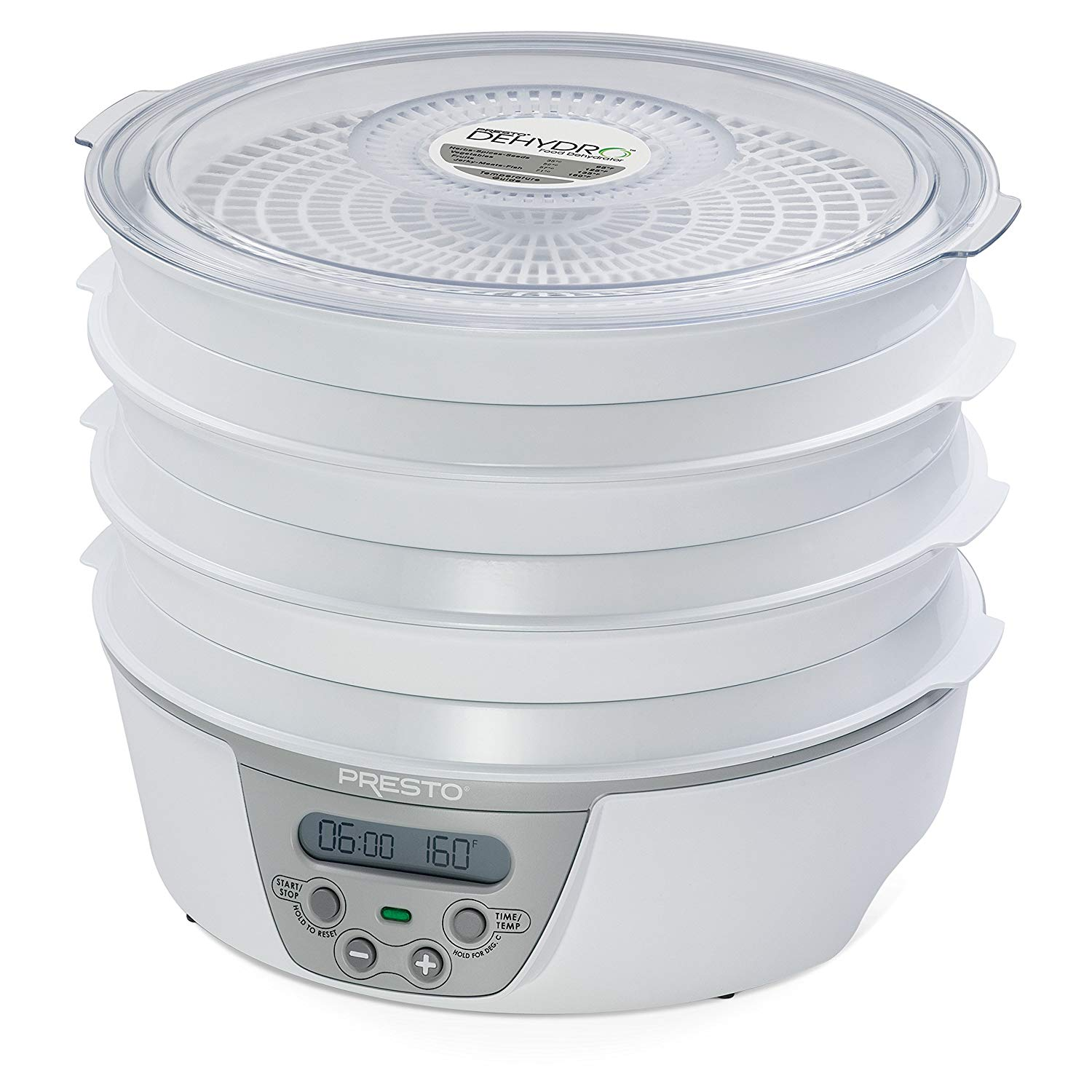 9. Presto 06301 Dehydro Digital Electric Food Dehydrator