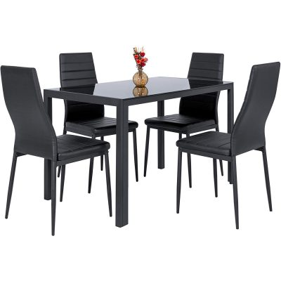 1. Best Choice 5-Piece Dinette Dining Table Set