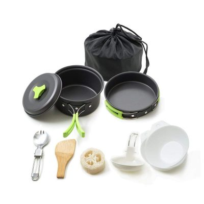 4. Honest outfitters Camping Cookware