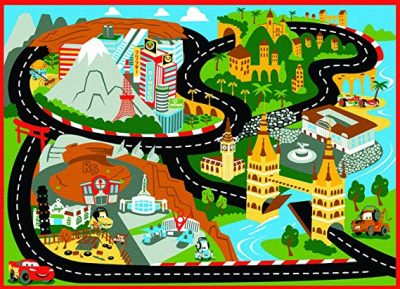 5. Gertmenian Disney Cars Rug Mat