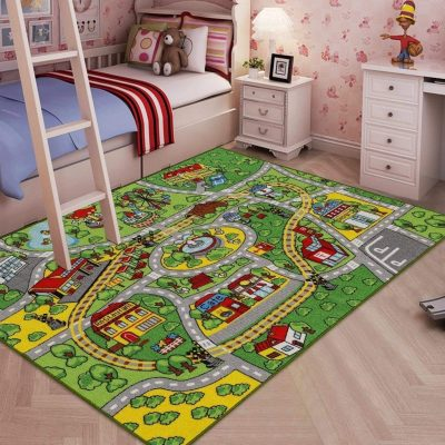 10. JACKSON Large Kid Rug Carpet Mat