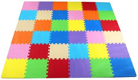 4. BalanceFrom Kid's Puzzle Mat