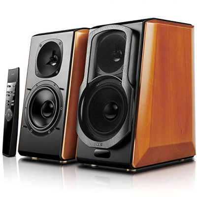 3. Edifier S2000pro Powered Bluetooth Bookshelf Speakers