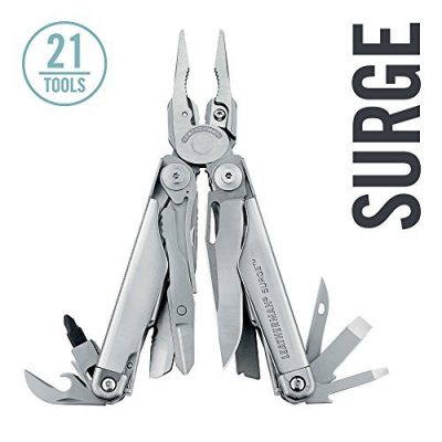10. LEATHERMAN Surge Multitool, Stainless Steel- Best Leathermans