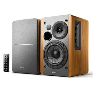 9. Edifier R1280DB Powered Bluetooth Bookshelf Speakers