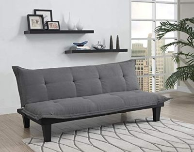 10. DHP Lodge Convertible Futon Couch Bed