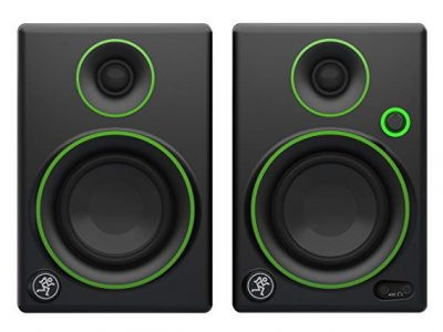 "2.Mackie CR3 CR Series 3"" Creative Reference Multimedia Monitors"