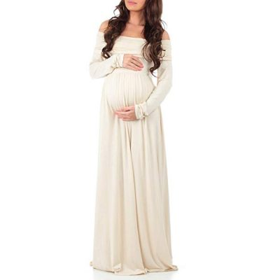 10. Mother Bee Women's Ruched Maternity Nursing Dress