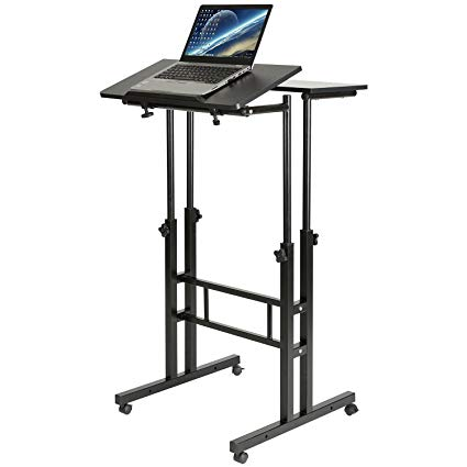 1. DOESWORKS Mobile Stand Up Desk