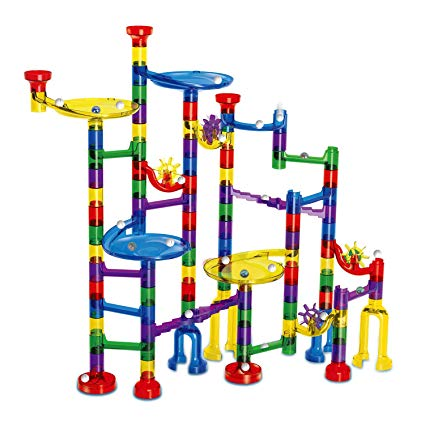 9. Meland Marble Run Construction Building Blocks