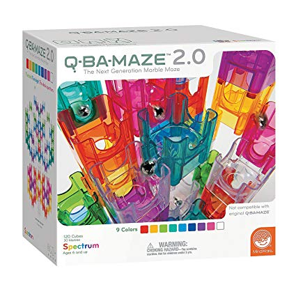 8. MindWare Q-BA-MAZE 2.0 Spectrum Color Set