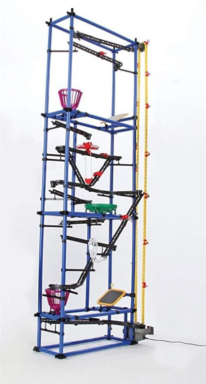 4. Chaos Tower Rube Goldberg Inspired Marble Run