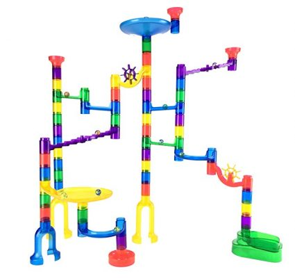 2. Marble Genius Marble Run Starter Set