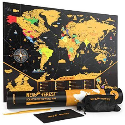 7. Scratch Off Map of The World