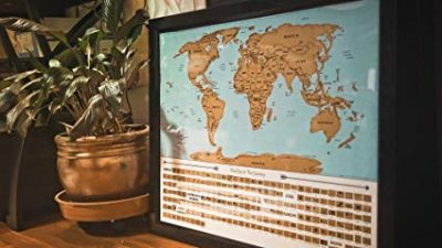 4. Scratch Off World Map