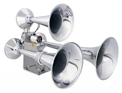 8. Grand General 69991 Chrome Heavy Duty Train Horn