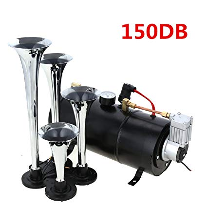 5. Meditool 12V 150dB Train Horn