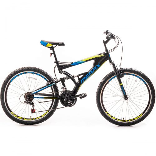 1. Merax Falcon Full Suspension Bike - Best Mountain Bikes