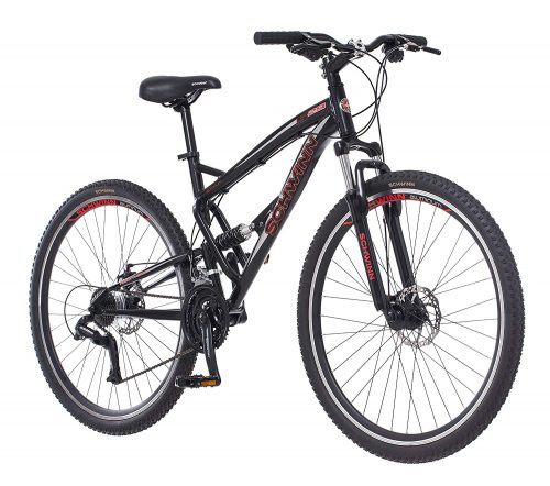 10. Schwinn S29 Dual Suspension Mountain Bike