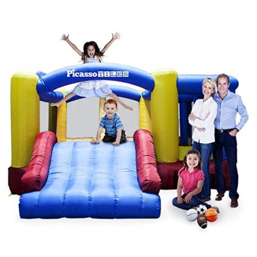 2. Inflatable Bouncer House – PicassoTiles