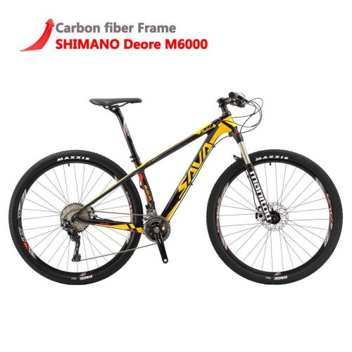 3. SAVADECK Deck300 Carbon Fiber Bike - Best Mountain Bikes